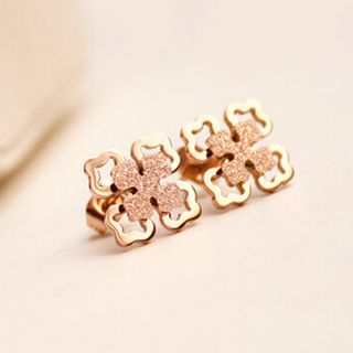 Clovers Stud Earring from JZ Concept