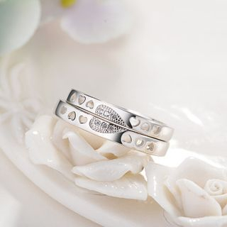 Couple Matching Heart Ring from JZ Concept