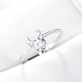 Deer Ring White - One Size from JZ Concept
