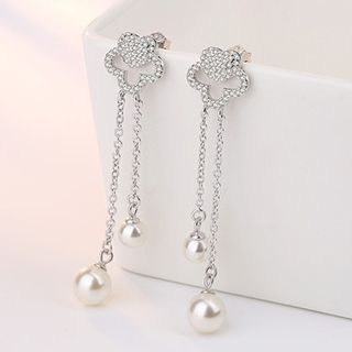Faux Pearl Drop Earring from JZ Concept