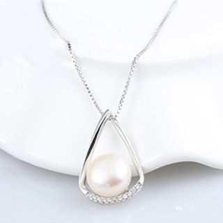Freshwater Pearl Pendant Necklace from JZ Concept
