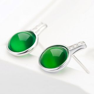 Gemstone Stud Earring from JZ Concept
