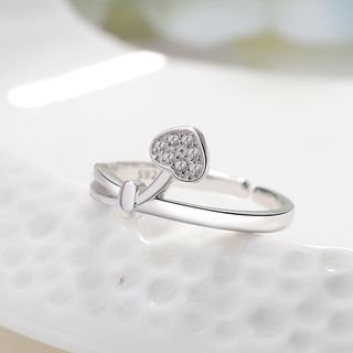 Heart Open Ring from JZ Concept