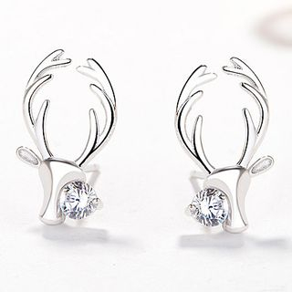 Rhinestone Deer Earring from JZ Concept
