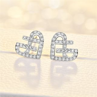 Rhinestone Earring from JZ Concept