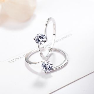 Rhinestone Ring from JZ Concept