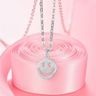 Smiley Face Pendant Necklace from JZ Concept
