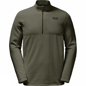 Mens Gecko Fleece from Jack Wolfskin