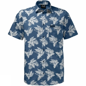 Mens Hot Chili Tropical Shirt from Jack Wolfskin