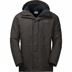 Mens Thorvald 3in1 Jacket from Jack Wolfskin