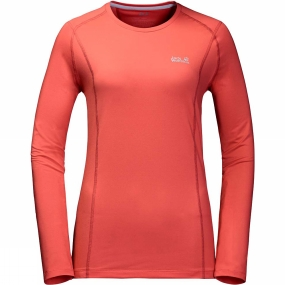 Womens Hollow Range Long Sleeve Top from Jack Wolfskin