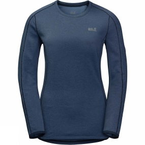 Womens Hydropore Long Sleeve Top from Jack Wolfskin