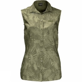 Womens Sonora Jungle Sleeveless Shirt from Jack Wolfskin