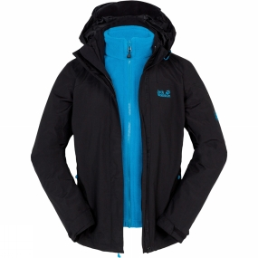Womens Torrential Rain 3-in-1 Jacket from Jack Wolfskin