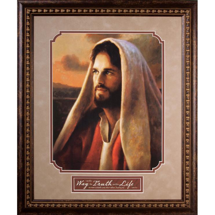 James Lawrence 2560 Prince of Peace Framed Wall Art by artist Greg Olsen from James Lawrence