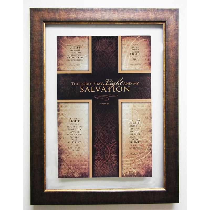James Lawrence 2570 Salvation Double Glass Matted Framed Wall Art from James Lawrence