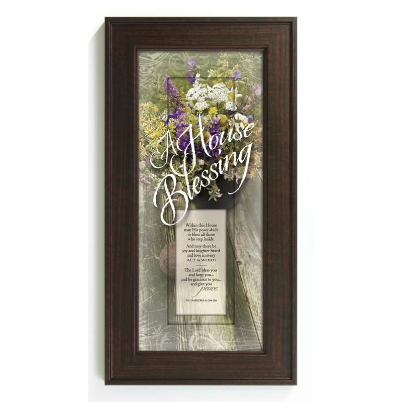 James Lawrence 3055 A House Blessing Framed Wall Art from James Lawrence