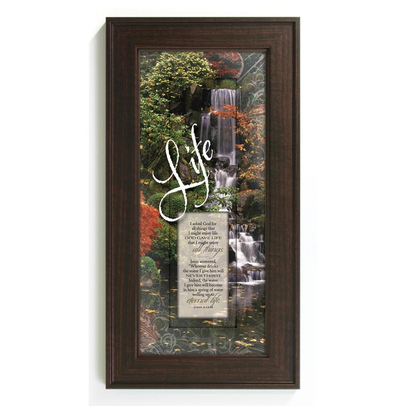 James Lawrence 3059 I Asked God Framed Wall Art from James Lawrence
