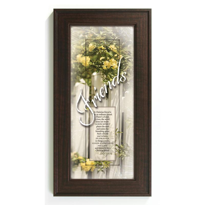James Lawrence 3061 A Christian Friend Framed Wall Art from James Lawrence