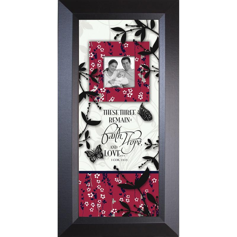 James Lawrence 3152 Faith Hope Love - Sharing Life Framed Wall Art from James Lawrence