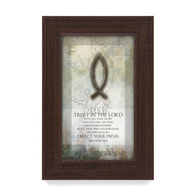 James Lawrence 3617 Trust In The Lord Framed Wall Art from James Lawrence