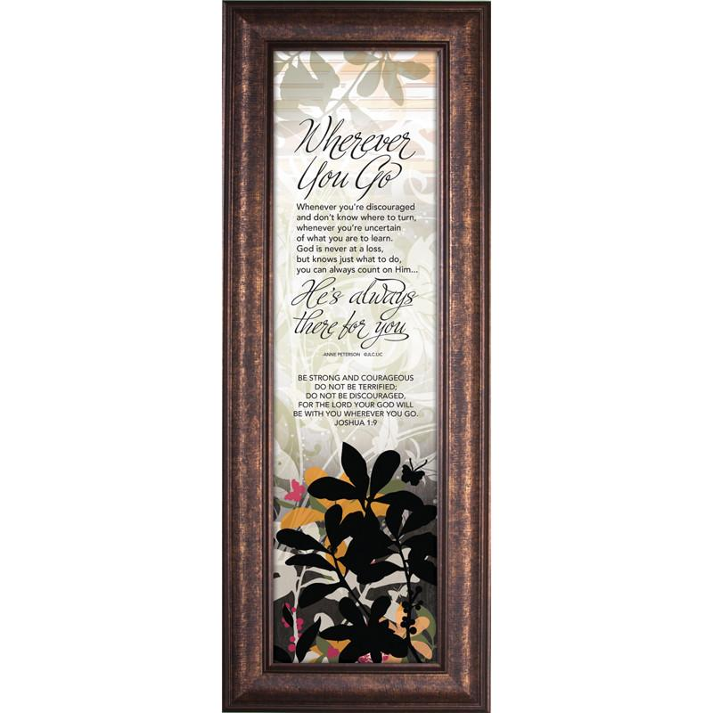 James Lawrence 3735 Wherever You Go - There For You Framed Wall Art from James Lawrence