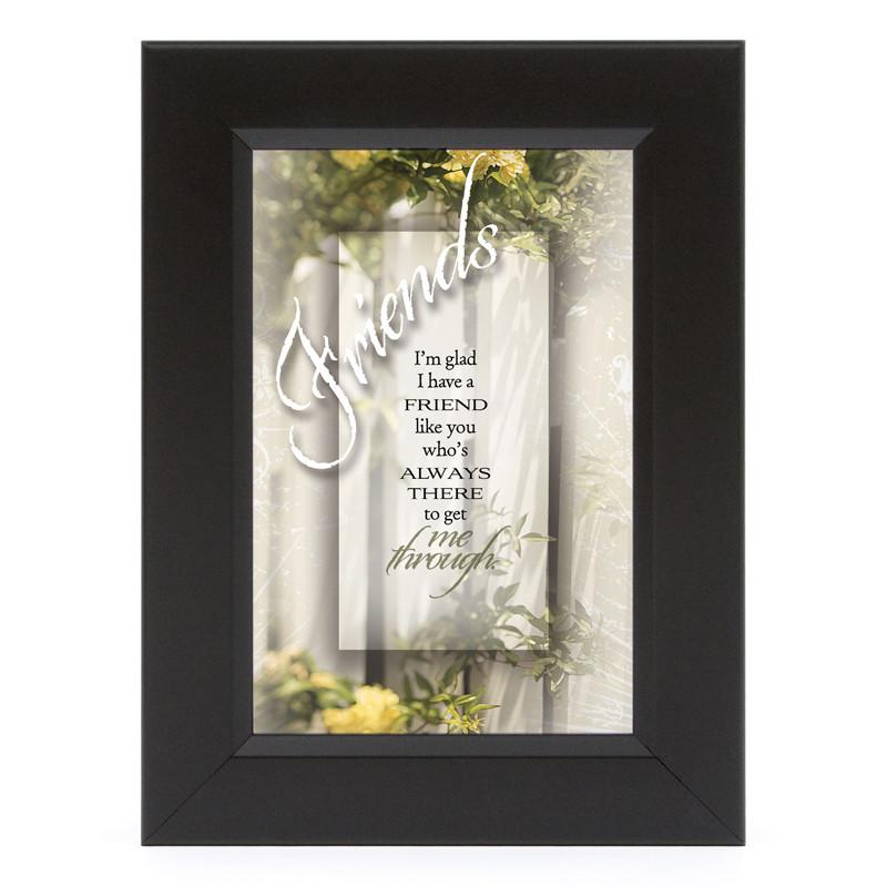 James Lawrence 7108 Friends-I'm Glad Shadow Box Framed Wall Art from James Lawrence