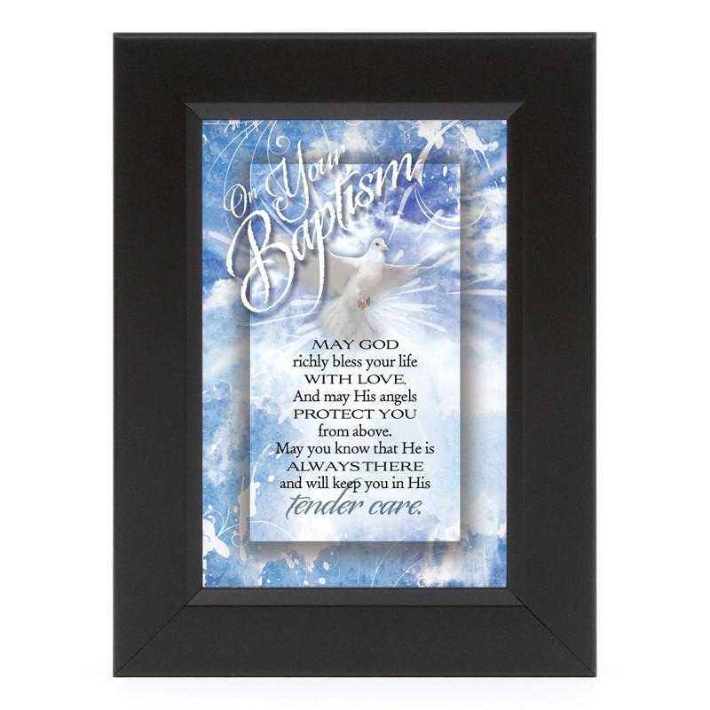James Lawrence 7124 On Your Baptism Shadow Box Framed Wall Art from James Lawrence