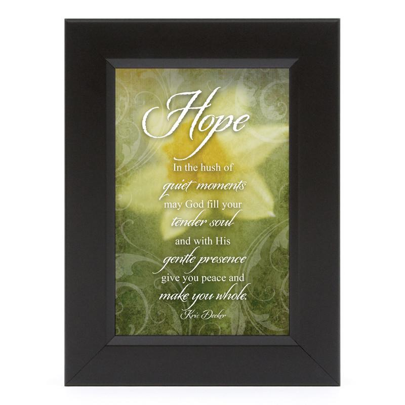 James Lawrence 7152 Hope-What Cancer Shadow Box Framed Wall Art from James Lawrence