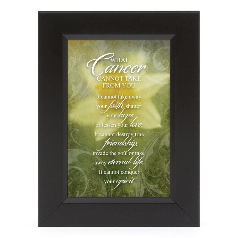 James Lawrence 7153 What Cancer-Daffodil Shadow Box Framed Wall Art from James Lawrence