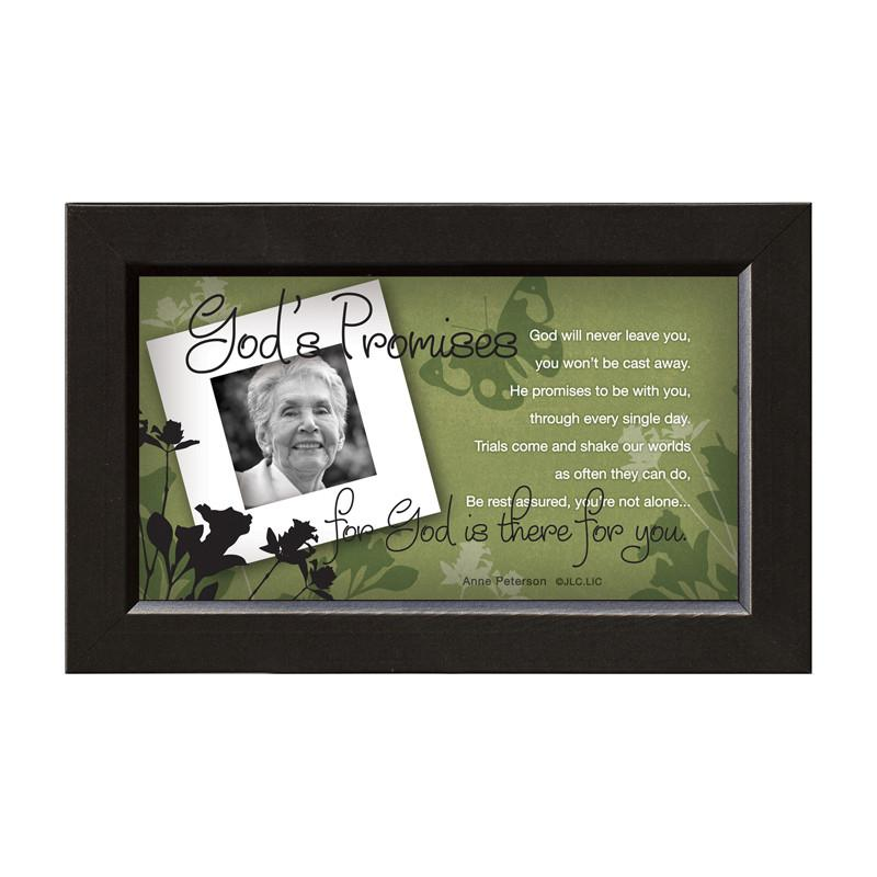 James Lawrence 7221 God's Promises-There For You Framed Wall Art from James Lawrence