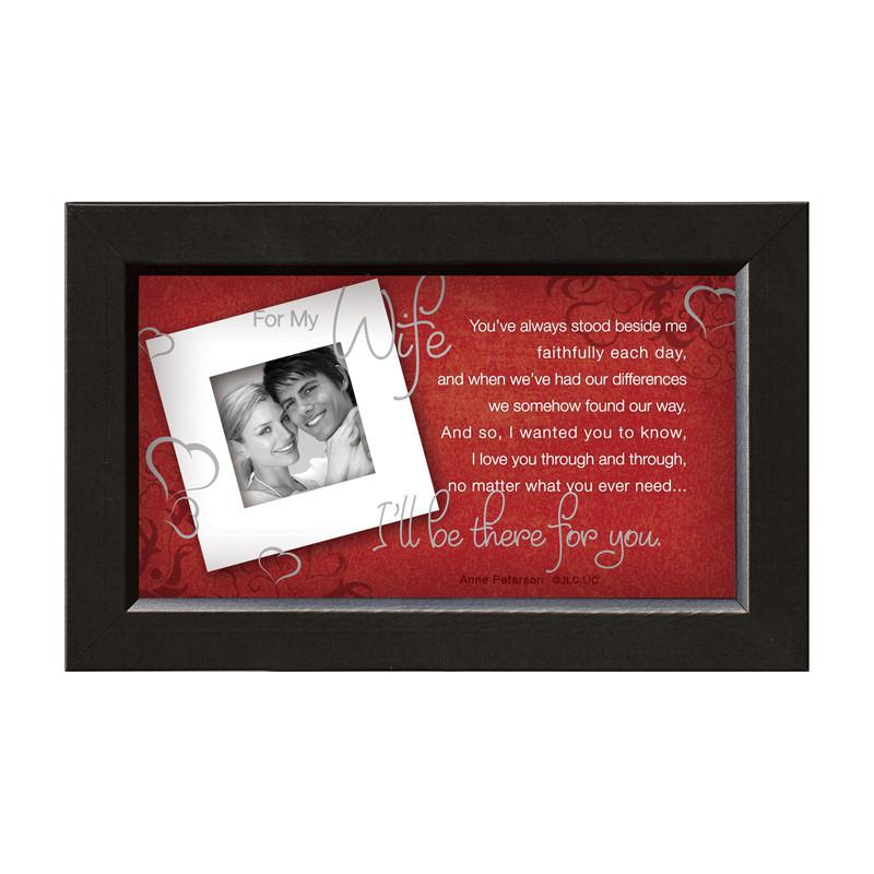 James Lawrence 7223 Wife-There For You Framed Wall Art from James Lawrence