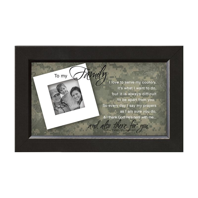 James Lawrence 7231 Family/Soldier-There For You Framed Wall Art from James Lawrence