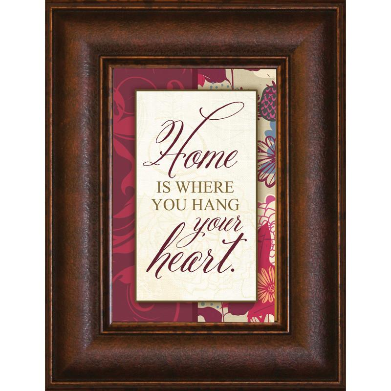 James Lawrence 8901 Home Is Where Mini Framed Wall Art from James Lawrence