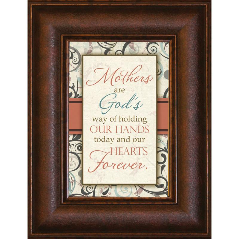 James Lawrence 8908 Mothers Are God's Way Mini Framed Wall Art from James Lawrence
