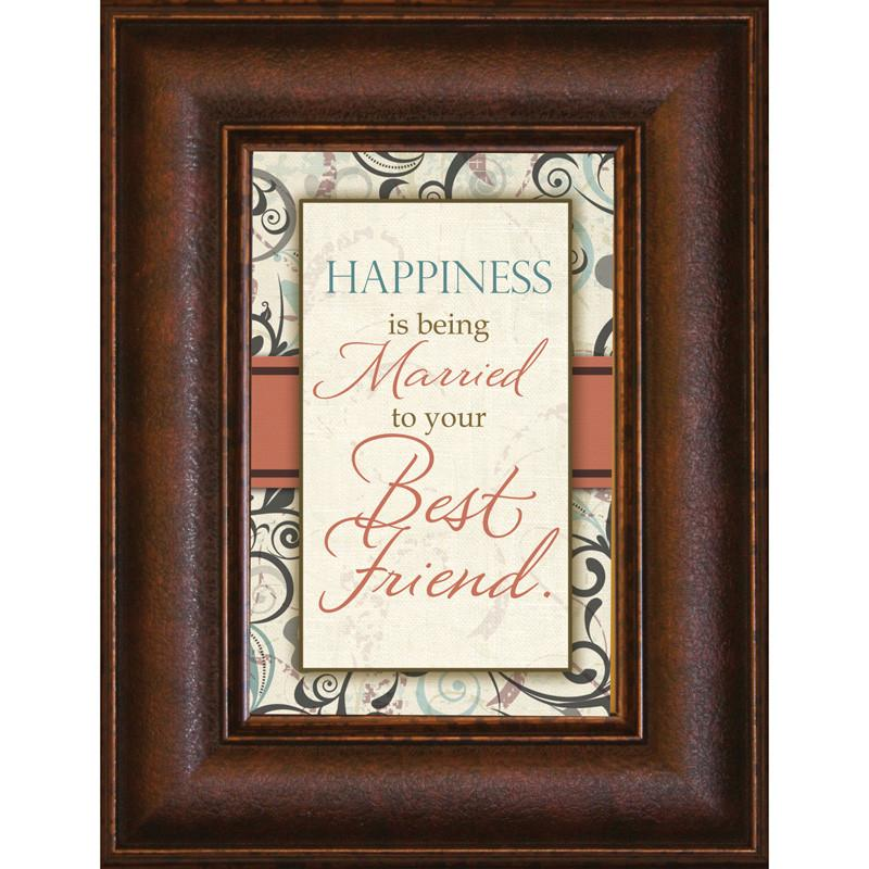 James Lawrence 8912 Happiness Is Mini Framed Wall Art from James Lawrence