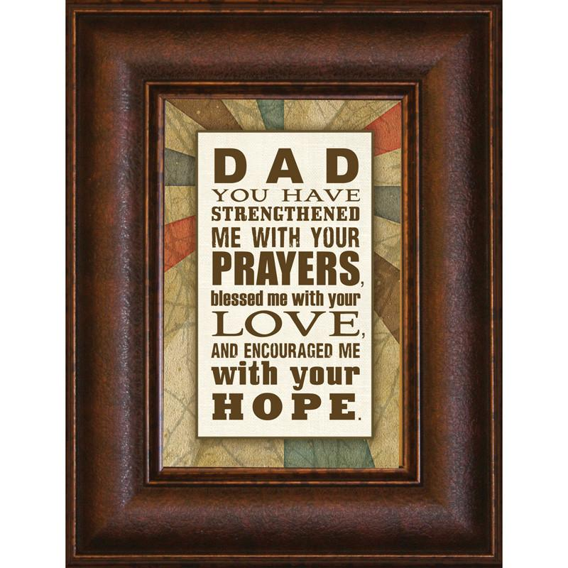 James Lawrence 8914 Dad You Have Mini Framed Wall Art from James Lawrence