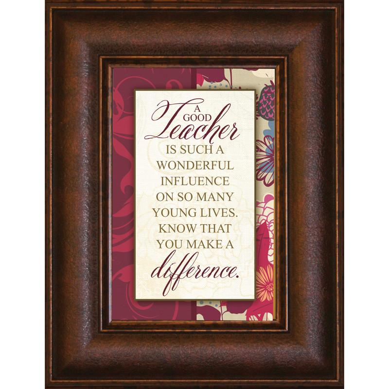 James Lawrence 8917 A Good Teacher Mini Framed Wall Art from James Lawrence