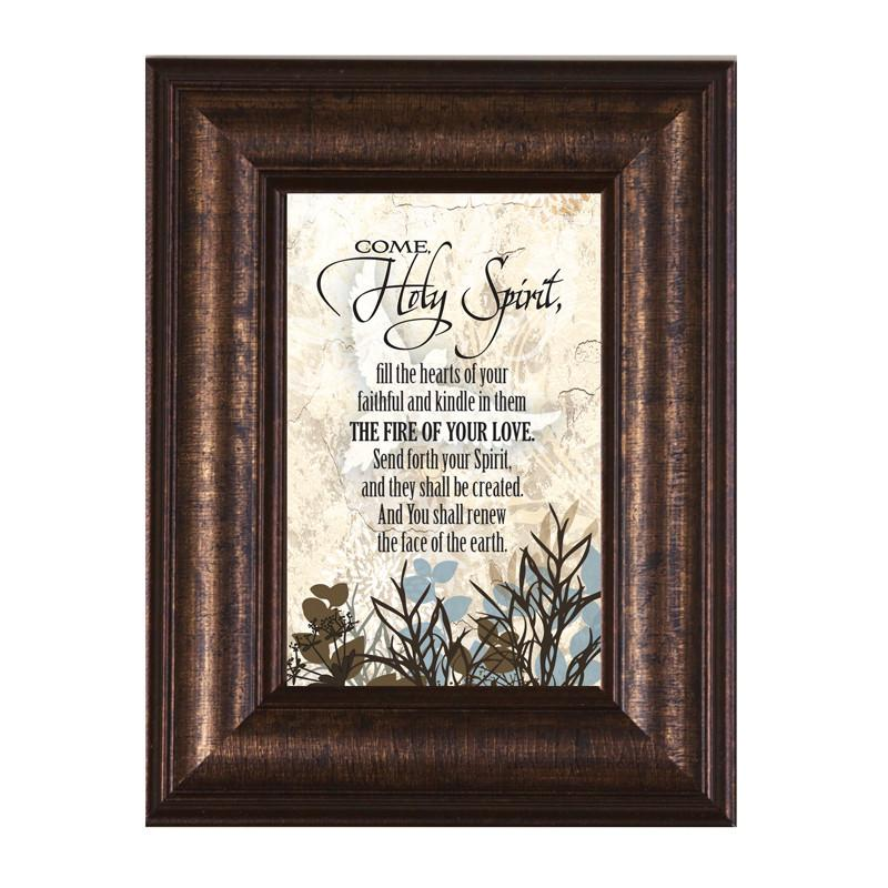 James Lawrence 8945 Come Holy Spirit Mini Framed Wall Art from James Lawrence