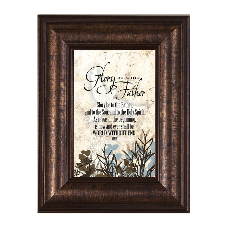 James Lawrence 8947 Glory Be To The Father Mini Framed Wall Art from James Lawrence