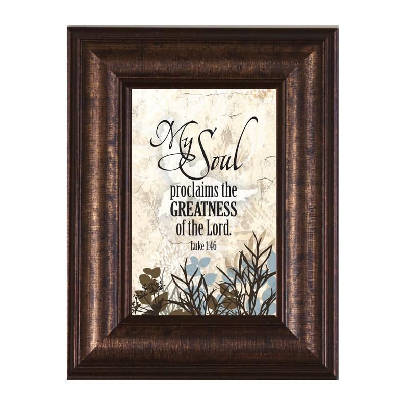 James Lawrence 8949 My Soul Mini Framed Wall Art from James Lawrence
