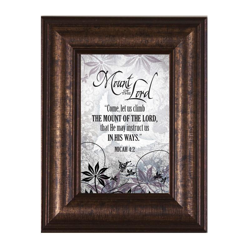 James Lawrence 8950 Mount Of The Lord Mini Framed Wall Art from James Lawrence