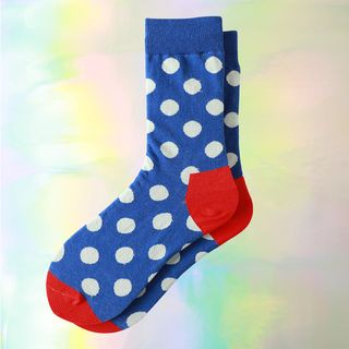 Printed Socks Blue - One Size from Jansi