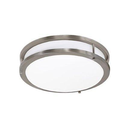 Jesco CM403S-30-BN Contemporary Round Led Ceiling & Ada Wall Mount from Jesco Lighting