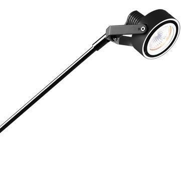"Jesco Lighting ALFP154-BKBK Low Voltage Series 154 with Periscope from 22""-32"" from Jesco Lighting"