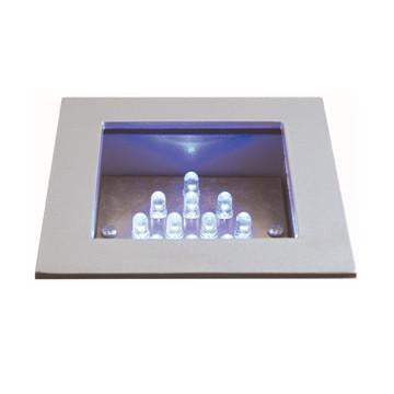 Jesco Lighting HG-RL01B-12V-R LED Recessed Wall Aisle and Step Lights from Jesco Lighting