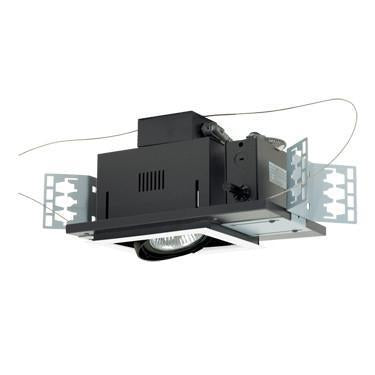 Jesco Lighting MGP30-1WB One-Light Double Gimbal Recessed Line Voltage Fixture from Jesco Lighting