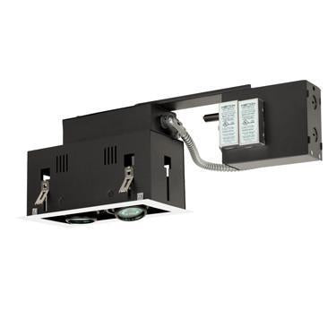 Jesco Lighting MGR1650-2EWB Two-Light Double Gimbal Linear Recessed Fixture Low Voltage from Jesco Lighting