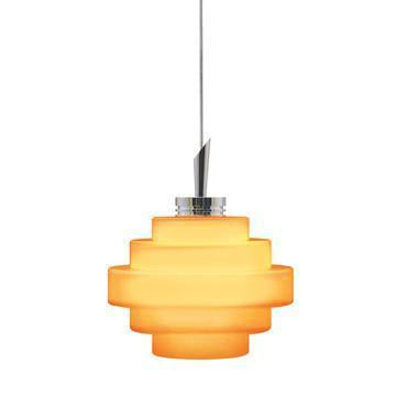 Jesco Lighting QAP121-AM/SN QAP121-GRACE Quick Adapt-Low Voltage Pendant from Jesco Lighting