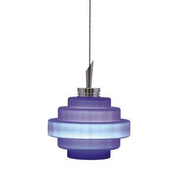 Jesco Lighting QAP121-CB/SN QAP121-GRACE Quick Adapt-Low Voltage Pendant from Jesco Lighting